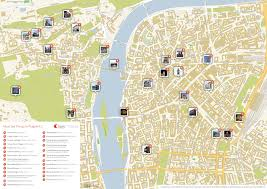 touristic map of prague printable tourist map sygic travel