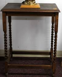 antique spindle leg side table antique side table w spindle legs the jolly pack rat jolly pack