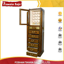 Safe Cabinet Factory Supplier Watch Safe Jewelry Safe Cabinet Box With Drawers
