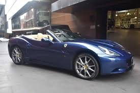 Ferrari California Gray - 2012 ferrari california f149 convertible 2dr dct 7sp 4 3i