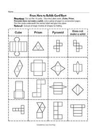 188 best geometry images on pinterest surface area interactive