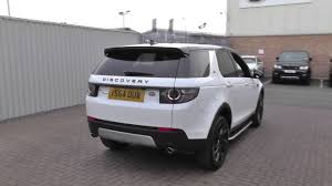 land rover discovery 2016 white land rover discovery sport 2015my sd4 hse luxury auto u10204 youtube