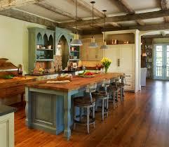 Green Kitchen Island Kitchen Island Green In Bluegreen Rustickitchen K Inspiration