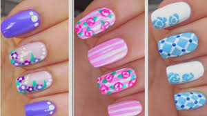 stylevia easy 3 nail art designs with followers style new spring