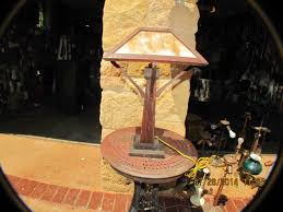 Arts And Crafts Desk Lamp Don U0027s Lamps U0026 Antiques Wood Arts And Crafts
