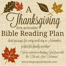 the purposeful a bible reading plan for ones