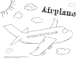 airplane colouring page get coloring pages