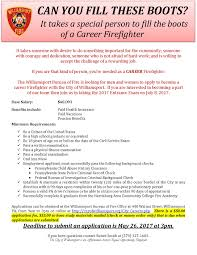 Firefighter Boots Information by The City Of Williamsport Pa