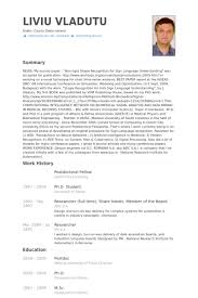 resume for postdoc postdoctoral fellow resume sles visualcv