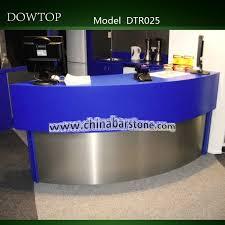 Metal Reception Desk Modern Unique Round Stainless Steel Reception Desk Buy Stainless
