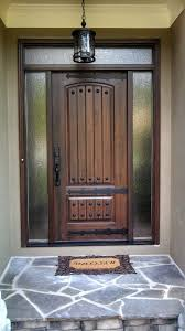 collections of wooden front doors with glass panels free home