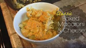 classic baked macaroni and cheese gluten free u0026 dairy free youtube