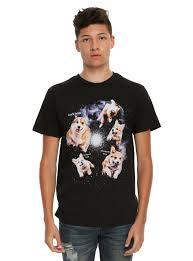 corgis in space bork t shirt topic