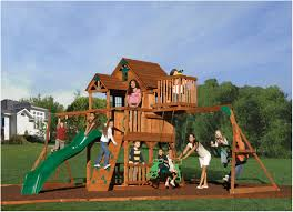backyards awesome backyard landscape idea with playground feat