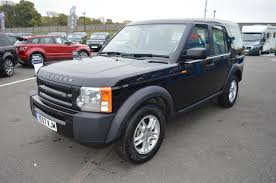 used 2007 land rover discovery 3 tdv6 2 7 diesel 6 speed manual 5
