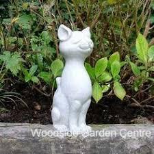 enigma marble resin white plinth garden ornament