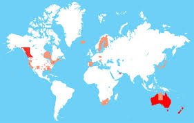 Trinidad On World Map by Freestyle Cyclists Bicycle Helmet Law Map