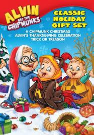 thanksgiving dvd alvin and the chipmunks gift set a chipmunk