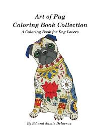 amazon art pug coloring book collection coloring book