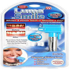 led light for teeth yogers luma tooth polisher whitener stain remover with led light