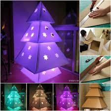 cardboard christmas tree brilliant christmas project diy cardboard christmas tree diy