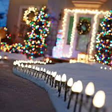 Outdoor Christmas Lights Decorations Top 46 Outdoor Christmas Lighting Ideas Illuminate The Holiday