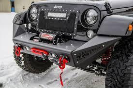 jeep rubicon winch bumper addictive desert designs jk stealth fighter front bumper center w