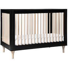Black Convertible Cribs Babyletto Lolly 3 In 1 Convertible Crib In Black And Washed