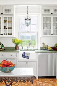 Classic White Kitchen Cabinets Our Best Cottage Kitchens Southern Living