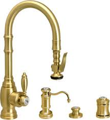 Waterstone Kitchen Faucets by Waterstone 5200 4 Kitchen Faucet With Soap Dispenser Air Switch