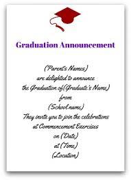 grad announcement wording correct graduation announcement etiquette with ease