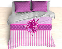 Personalized Girls Bedding by Dance Bedding Etsy