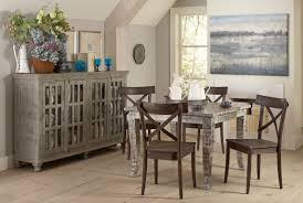 artisan hand painted square dining table from largo coleman