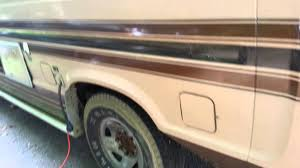 1988 ford e250 rv coachmen van class b youtube