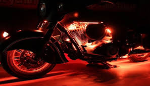 Led Lights For Motorcycle Motorcycle Led Lighting By Custom Dynamics