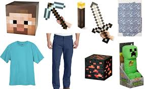 minecraft costumes minecraft steve costume diy guides for