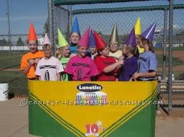 Halloween Crayon Costume 25 Funny Group Costumes Ideas Funny