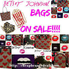 betsey johnson bag sale 30 off