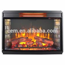 Infrared Quartz Fireplace by 30in Medium Infrared Quartz Heater Electric Fireplace With Remote