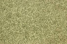 1960s vintage wallpaper green and gold roses on green rosie u0027s
