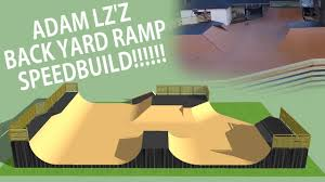 modelling adam lz u0027s ramp skatepark speedbuilds 1 youtube