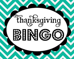 thanksgiving bingo free printable