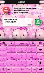 kitty keyboard theme android apps google play