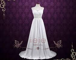 Grecian Wedding Dresses Grecian Wedding Gown Etsy