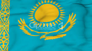 Kazakhstan Flag Flying Flag Of Kazakhstan Royalty Free Video And Stock Footage