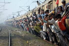 Fast City Slow Commute Center by India U0027s Trains Are Insanely Crowded Business Insider
