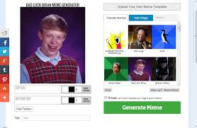 Make Bad Luck Brian Meme - brian meme generator meme best of the funny meme