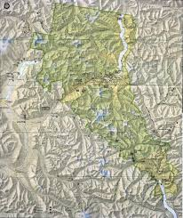 Topographic Map Of Washington by Free Download Washington National Park Maps