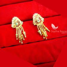 golden earrings e61 golden earring beautiful gift for women