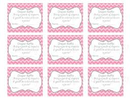 Free Printable Baby Shower Free Printable Baby Shower Raffle Tickets Template Best Template
